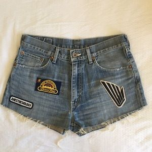 Vintage Levi Cut-offs x Urban Outfitters